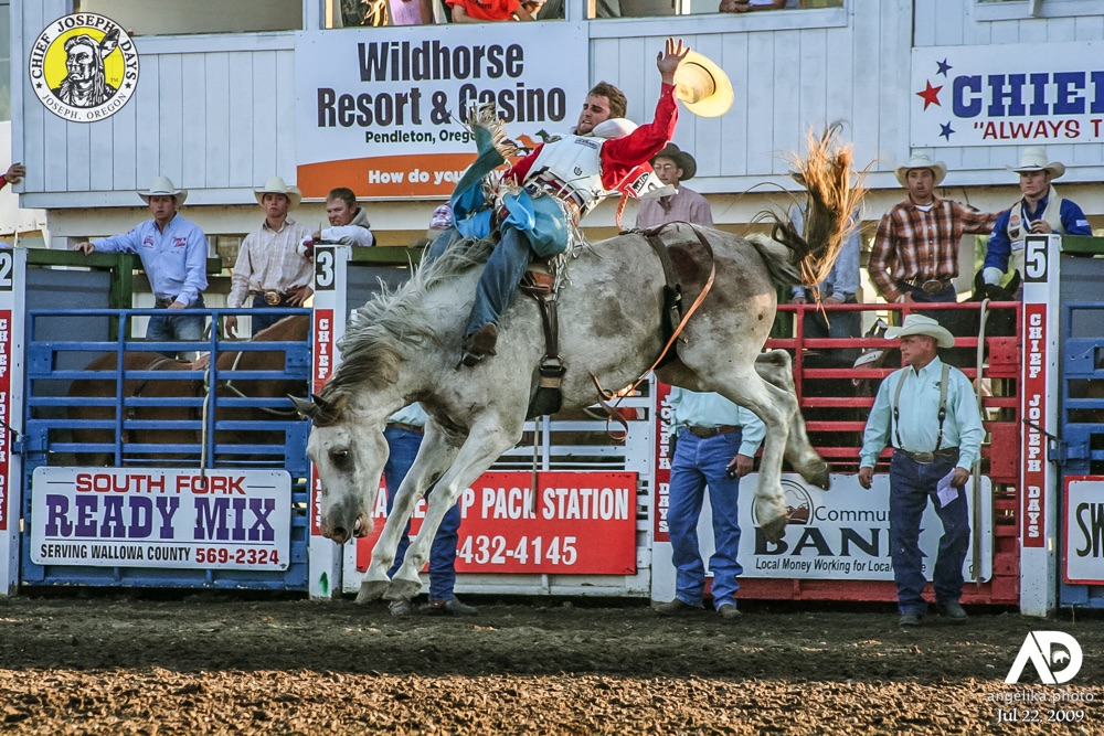 Celebrating 75 years of Chief Joseph Days in 2020 with PRCA Bareback Rider Jared Smith