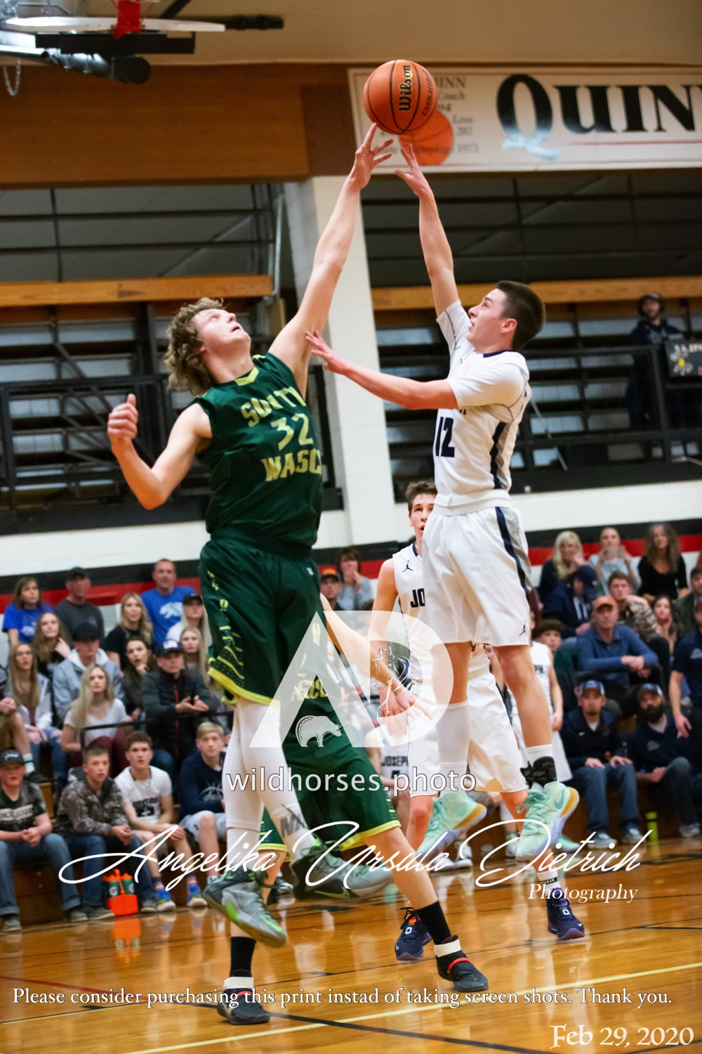 Joseph Eagles Boys Secure Seat in 2020 1A High School Basketball State Championship eliminating South Wasco County