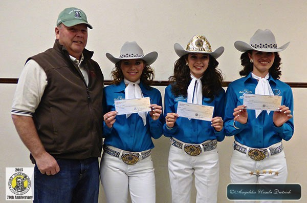 Chief Joseph Days Royalty receives Commission Checks totaling more than $10,000